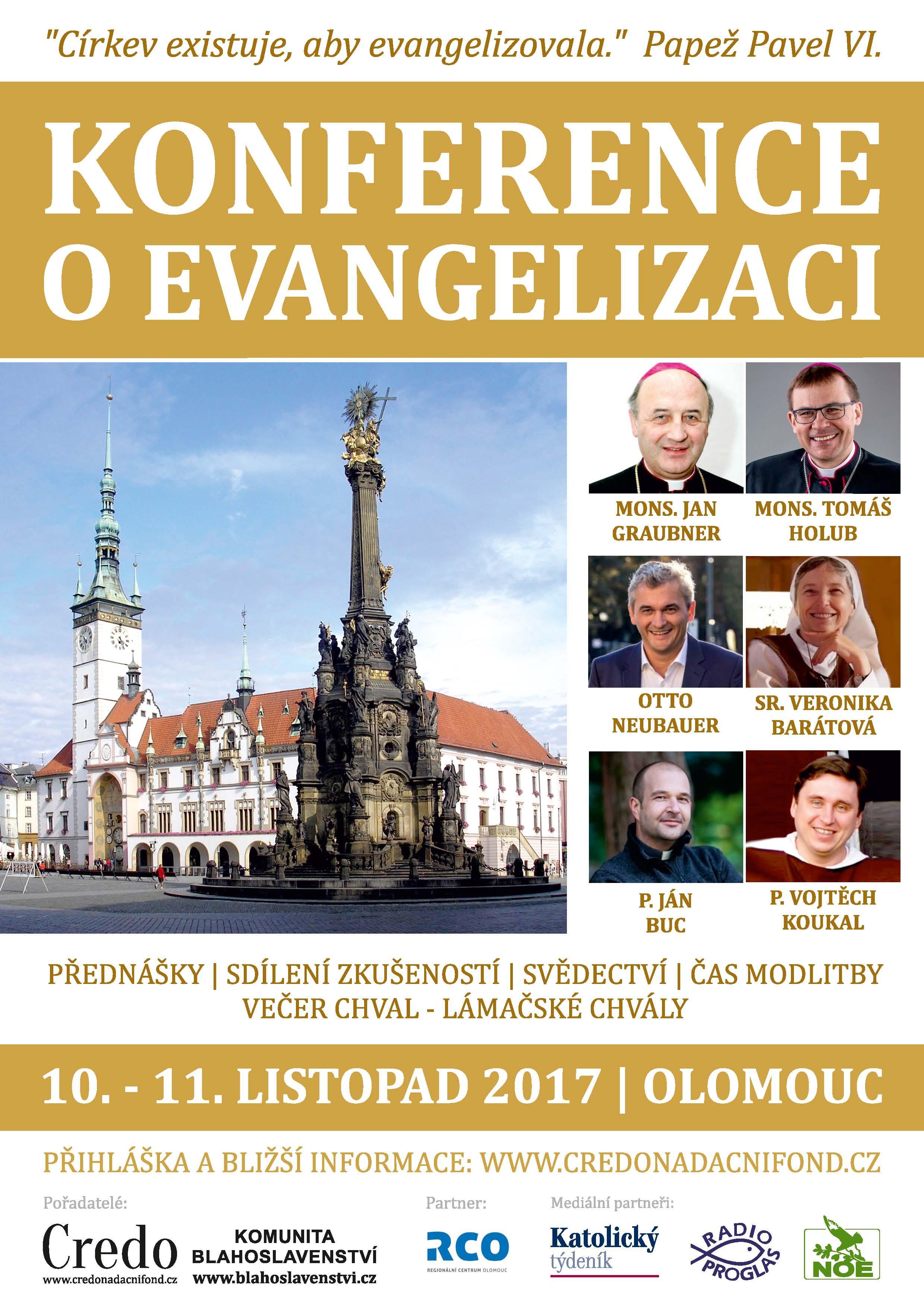konference o evangelizaci Olomouc -  A4